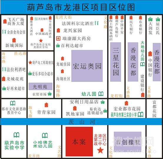 辽宁葫芦岛市龙港区第二行政中心旁79亩住宅地出让